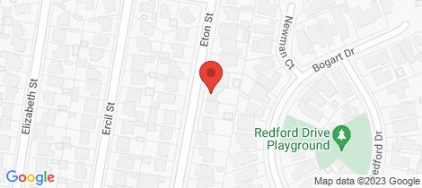 Location map for 28 Eton Street Wendouree