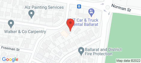 Location map for 60 Browns Parade Wendouree