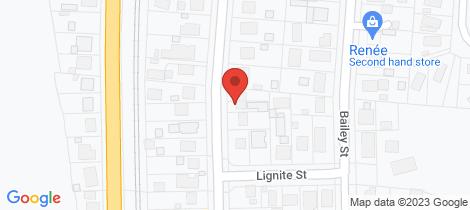 Location map for 132 Hakanoa Street Huntly
