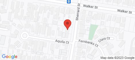Location map for 907 Sherrard Street Ballarat North