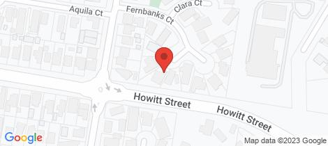 Location map for 5 Clianthus Court Ballarat North