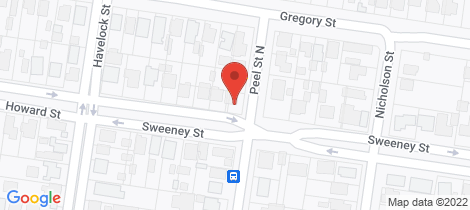 Location map for 15 Sweeney Street Black Hill