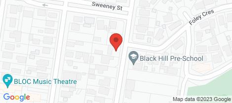 Location map for 615 Sherrard Street Black Hill