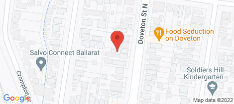 Location map for 517 Doveton Street North Soldiers Hill