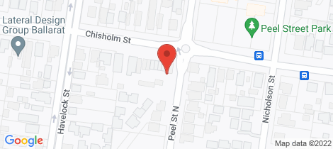 Location map for 328 Chisholm Street Black Hill