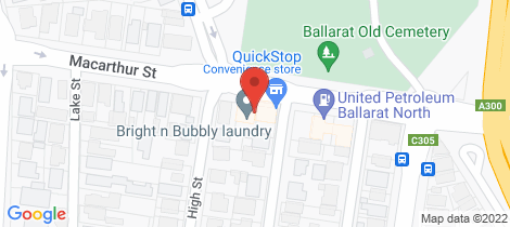 Location map for 917 MacArthur Street Lake Wendouree