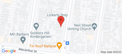 Location map for 509 Lydiard Street North Soldiers Hill