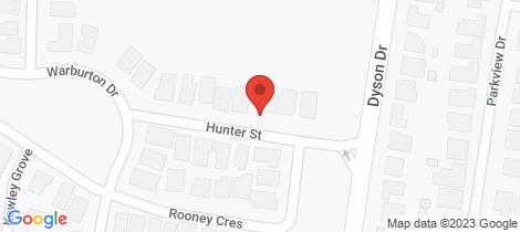 Location map for 6 Hunter Street Lucas