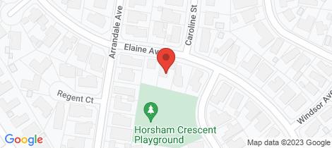 Location map for 33 Elaine Avenue Alfredton