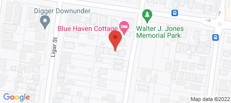 Location map for 4/417 Havelock Street Ballarat North