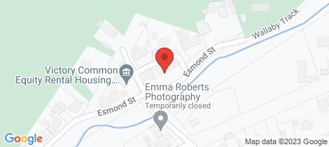 Location map for 5B Esmond Street Black Hill