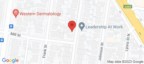 Location map for 25 Loch Avenue Ballarat Central