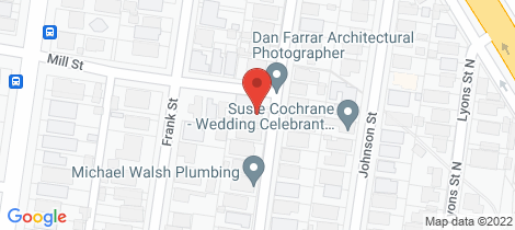 Location map for 21 Loch Avenue Ballarat Central
