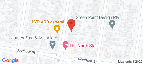 Location map for 308A Lydiard Street North Soldiers Hill