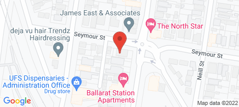 Location map for 239 Lydiard Street North Soldiers Hill