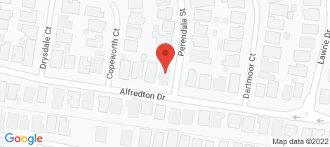 Location map for 20 Perendale Street Alfredton