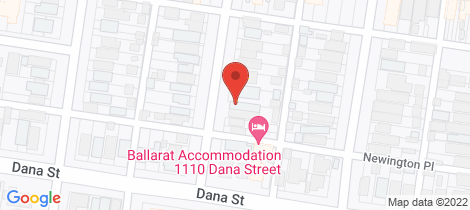 Location map for 19 Talbot Street South Ballarat Central