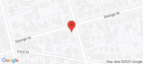 Location map for 16B George Street Ballarat East
