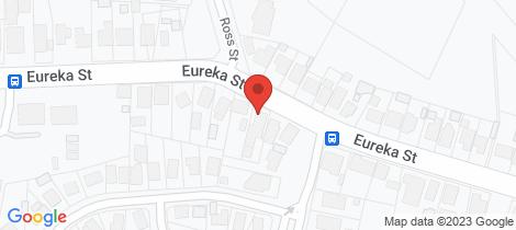Location map for 632 Eureka Street Ballarat East