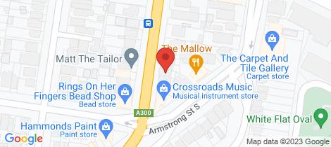 Location map for 217 Doveton Street South Ballarat Central
