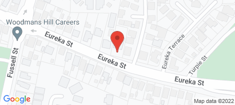 Location map for 819 Eureka Street Ballarat East