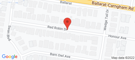 Location map for 35 Red Robin Drive Winter Valley