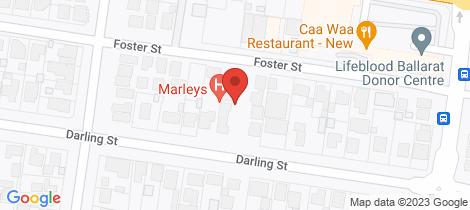 Location map for 2/716 Darling Street Redan