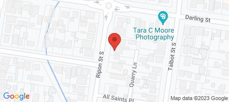 Location map for 705 Ripon Street South Redan