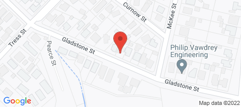 Location map for 417 Gladstone Street Golden Point