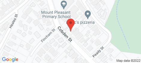 Location map for 413 Cobden Street Mount Pleasant