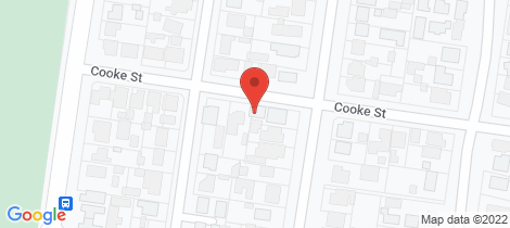 Location map for 399 Cooke Street Redan