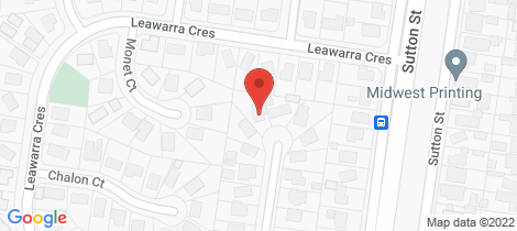 Location map for 8 Lawana Court Delacombe