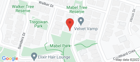 Location map for 23 Mabel Street Doreen
