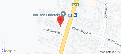 Location map for 802 Geelong Road Canadian