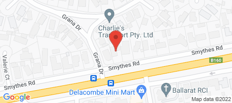 Location map for 30 Smythes Road Delacombe