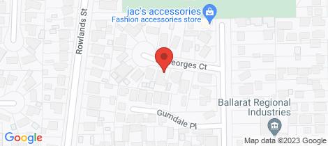 Location map for 7 St Georges Court Sebastopol