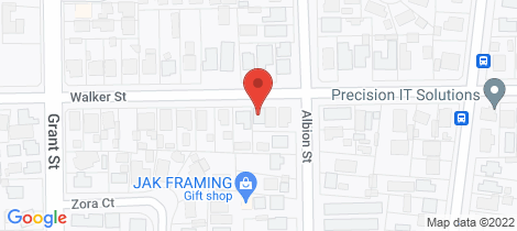 Location map for 157 Walker Street Sebastopol