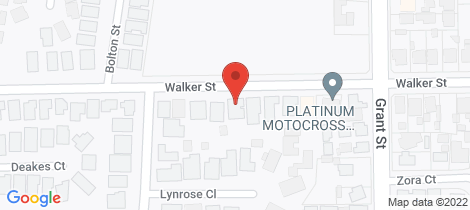 Location map for 191 Walker Street Sebastopol