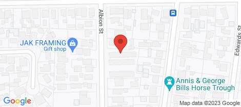 Location map for 3/33 Albion Street Sebastopol