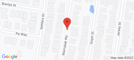 Location map for 16 Marrubak Way Bonshaw
