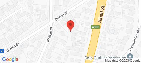 Location map for 10/302 Albert Street Sebastopol