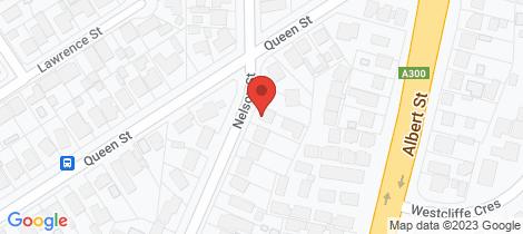 Location map for 1/3 Nelson Street Sebastopol