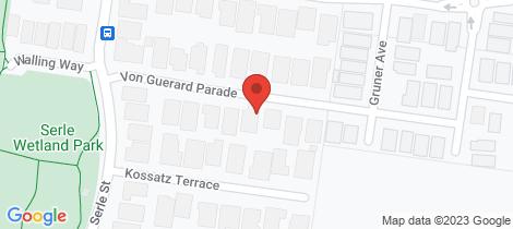 Location map for 11 Von Guerard Parade Doreen