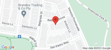 Location map for 6 Battista Grove Greenvale