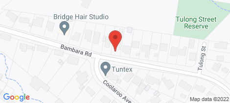 Location map for 29 Bambara Road Hurstbridge