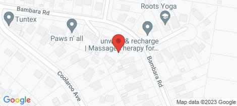 Location map for 2/54 Bambara Road Hurstbridge