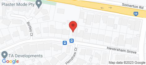 Location map for 47 Heversham Grove Greenvale