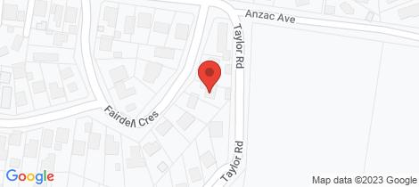 Location map for 5 Fairdell Crescent Hurstbridge