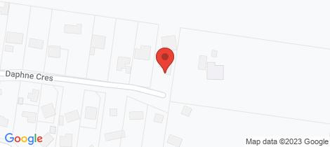 Location map for 37 Daphne Crescent Hurstbridge