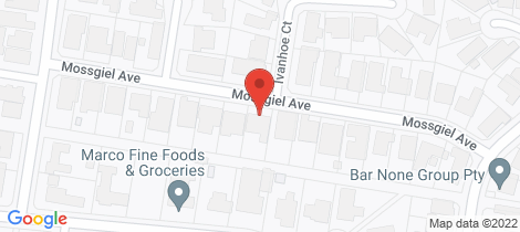 Location map for 18 Mossgiel Avenue Greenvale